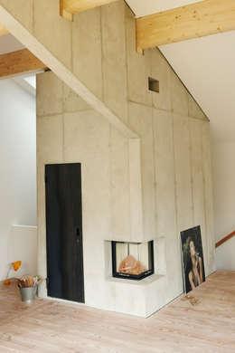 vonMeierMohr Architekten의  서재 & 사무실