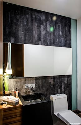 modern Bathroom by BAG arquitectura