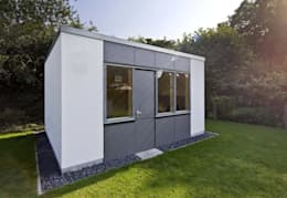 modern Garage/shed by puschmann architektur