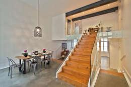 Comedor de estilo  por Pureza Magalhães, Arquitectura e Design de Interiores
