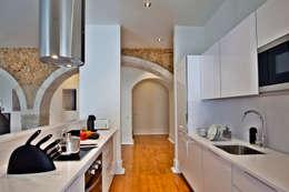 Cocina de estilo  por Pureza Magalhães, Arquitectura e Design de Interiores