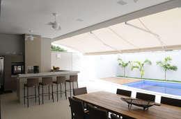 Terrazas de estilo  por A/ZERO Arquitetura