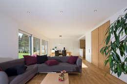 modern Living room by puschmann architektur