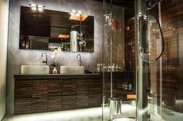 Ático Duplex, Reforma integral: Baños de estilo moderno de Molina Decoración