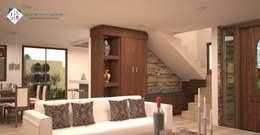 Salas de estilo clásico por ISLAS & SERRANO ARQUITECTOS