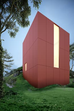 Projekty, nowoczesne Domy zaprojektowane przez mousa / Inspiración Arquitectónica