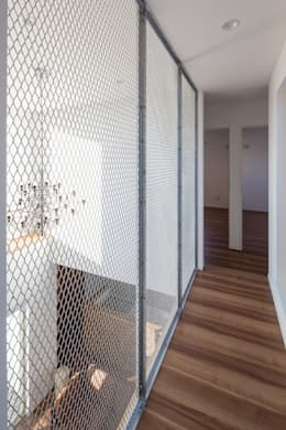 Corridor, hallway by LITTLE NEST WORKS