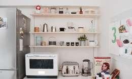 DIY 신혼집 인테리어 : toki의  주방