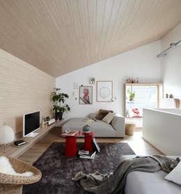 Salon de style de style Moderne par Burkhard Heß Interiordesign
