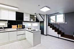 modern Kitchen by 한글주택(주)