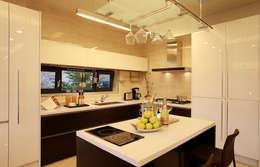 Projekty,  Kuchnia zaprojektowane przez 한글주택(주)