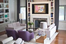Salas de estilo moderno por IN DESIGN Studio