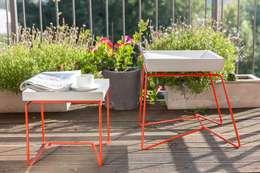 Balcones, porches y terrazas de estilo moderno por BETONIU GmbH