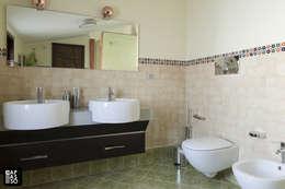 Salle de bains de style  par Capasso ARCHITETTI