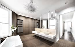 modern Bathroom by Recent Spaces
