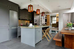 modern Kitchen by Cue & Co of London