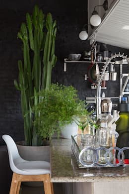 modern Kitchen by Eliane Mesquita Arquitetura