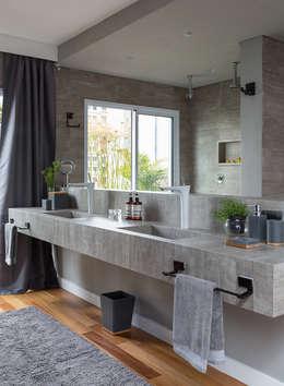 COBERTURA JOAQUIM ANTUNES : Banheiros modernos por Eliane Mesquita Arquitetura