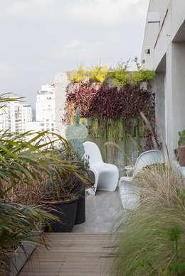 Terrace by Eliane Mesquita Arquitetura