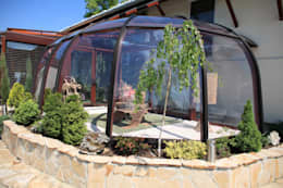 Jardines de invierno de estilo moderno por Gracja