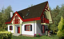 Дома в . Автор – Miacasa - Architektura - Wnętrza
