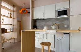 modern Kitchen by Studio Transparente