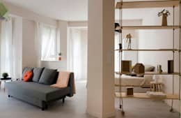 modern Living room by Studio Transparente