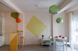 Гостиная в . Автор – Studio Transparente