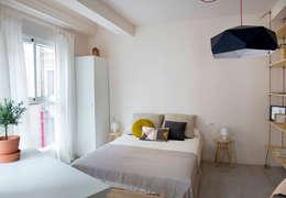 modern Bedroom by Studio Transparente