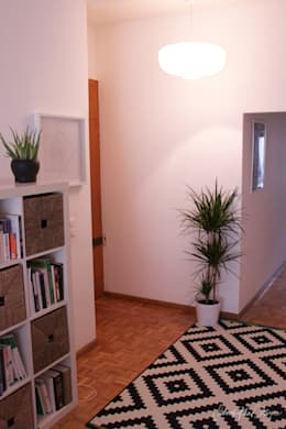 cool and cosy crib - geneva: Couloir et hall d'entrée de style  par Severine Piller Design LLC