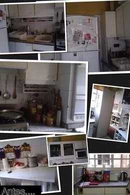 Arquitecta Fernanda Isola: kolonyal tarz tarz Mutfak