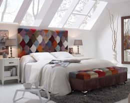 1 TAPIZA S.L.: eklektik tarz tarz Yatak Odası