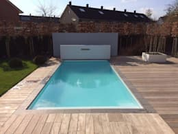 Custom-made swimmingpools:   door TVR Kunststoffen BV