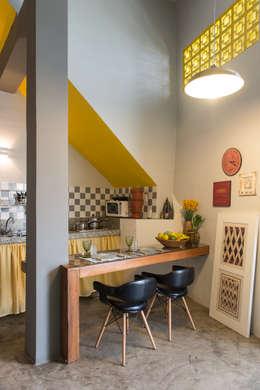 modern Dining room by MEIUS ARQUITETURA