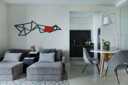 Campo Belo: Salas de estar modernas por Studio GPPA