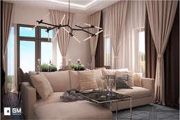 Livings de estilo moderno por GM-interior