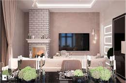 Big house: Гостиная в . Автор – GM-interior