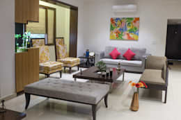 Chand Residence: modern Living room by Studio Ezube