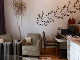 MBDesign Arquitetura & Interiores: modern tarz Oturma Odası
