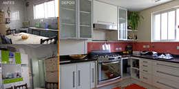 Cocinas de estilo moderno por MBDesign Arquitetura & Interiores