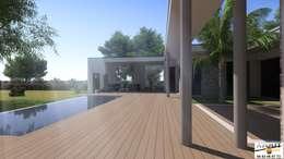 Jardins modernos por Atoutplans Architecture