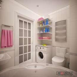 modern Bathroom by дизайн-бюро ARTTUNDRA