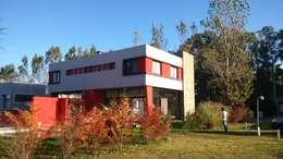 CASA CSHA: Casas de estilo moderno por DS Arquitectos