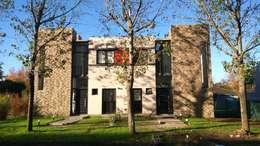 Projekty, nowoczesne Domy zaprojektowane przez DS Arquitectos