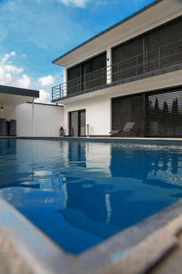 modern Pool by Herzog-Architektur