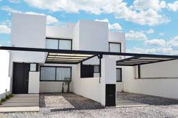 Dúplex VN: Casas de estilo moderno por estudio mam3 arquitectos