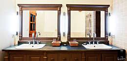 Baños de estilo clásico por Jeux de Lumière