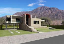 Eengezinswoning door Arquitecto Manuel Daniel Vilte