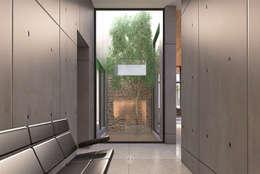 modern Garden by Lozano Arquitectos