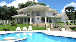 classic Houses by AMPLIZA Tuni&Santos Arquitetos